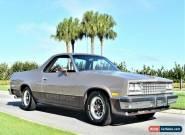 1983 Chevrolet El Camino 2 Dr Standard Cab for Sale