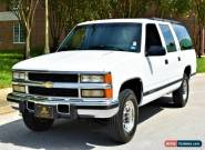 1994 Chevrolet Suburban 4x2 6.5 turbo diesel silverado 2500 mint for Sale