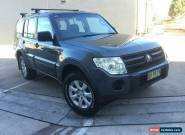 2008 Mitsubishi Pajero NS GLX Wagon 7st 5dr Spts Auto 5sp 4x4 3.8i Grey A Wagon for Sale
