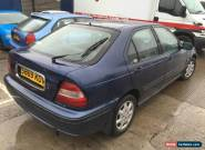 Honda civic MB3 d15y8 engine blue 5 door manual spares or repairs  for Sale