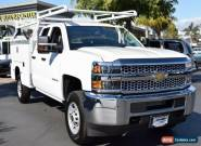 2019 Chevrolet Silverado 2500 Work Truck for Sale