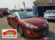 2012 Peugeot RCZ Red Manual 6sp M Coupe for Sale