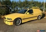 Classic BMW E36 328i Touring VAN Conversion 12 month MOT manual Dakar Yellow m3 Spor for Sale