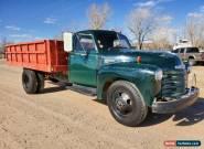 1949 Chevrolet PROJECT DUMP TRUCK KANSAS FARMER 1948 6400 GREEN for Sale