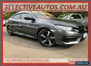 2016 Honda Civic MY16 RS Grey Automatic A Sedan for Sale
