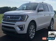 2019 Ford Expedition Max Limited for Sale