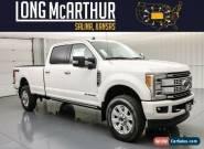 2019 Ford F-350 Platinum LWB Long Bed Crew Cab Diesel MSRP $78639 for Sale