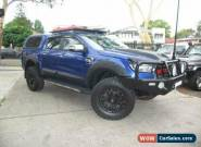 2016 Ford Ranger PX XLT 3.2 Hi-Rider (4x2) Blue Automatic 6sp A Crew Cab P/Up for Sale