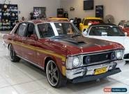 1969 Ford Falcon XW GT Candy Apple Red Manual 4sp M Sedan for Sale