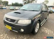2006 Ford Territory SY Ghia Turbo (4x4) Grey Automatic 6sp A Wagon for Sale