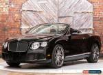 2014 Bentley Continental GT Convertible Speed for Sale