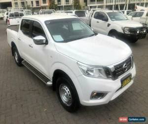 Classic 2017 Nissan Navara D23 Series II RX (4x2) White 7 SP AUTOMATIC for Sale