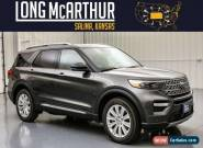 2020 Ford Explorer Limited Moonroof 4WD 2nd Row Buckets MSRP $54213 for Sale