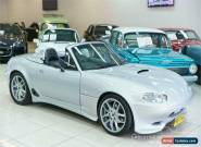 2000 Mazda MX-5 BULLET Silver Manual 5sp M Convertible for Sale