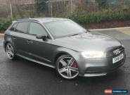 2018 Audi S3 2.0 TFSI 310bhp Black Edition S-Tronic quattro 26.000miles 1 owner  for Sale