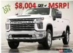 2020 Chevrolet Silverado 2500 HD MSRP$66320 4X4 LTZ Z71 GPS Iridescent Crew 4WD for Sale