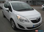2010/60 VAUXHALL MERIVA EXCLUSIV 1.4 MPV , WHITE/BLACK INTERIOR for Sale