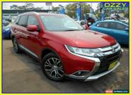 2015 Mitsubishi Outlander ZK MY16 Exceed (4x4) Red Automatic 6sp A Wagon for Sale