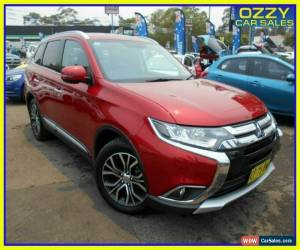Classic 2015 Mitsubishi Outlander ZK MY16 Exceed (4x4) Red Automatic 6sp A Wagon for Sale