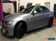 2010 60 BMW E92 M3 Coupe Frozen Grey edition-low mileage-full history for Sale