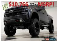 2020 Chevrolet Silverado 1500 MSRP$56684 4X4 Trail Boss Lifted Leather Gray Crew for Sale