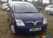 VAUXHALL MERIVA ENJOY 1.6 MPV SPARES OR REPAIR for Sale