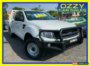 2013 Ford Ranger PX XL 3.2 (4x4) White Manual 6sp M Dual Cab Utility for Sale