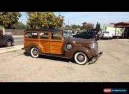 1939 Chevrolet Woody Station Wagon for Sale