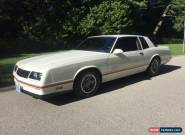 1987 Chevrolet Monte Carlo SS Aerocoupe for Sale