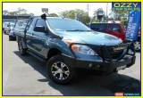 Classic 2012 Mazda BT-50 XT (4x4) Blue Manual 6sp M Freestyle C/Chas for Sale