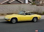 1970 Lotus Elan Elan for Sale