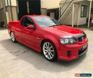 Classic 2009 Holden Ute VE SS Red Manual M Utility for Sale