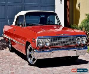 Classic 1963 Chevrolet Impala Convertible 454 for Sale
