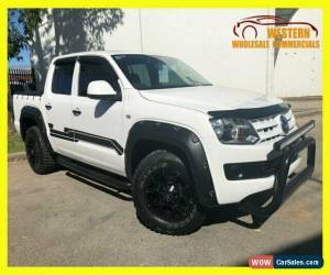 Classic 2013 Volkswagen Amarok 2H MY13 TDI400 Cab Chassis Dual Cab 4dr Man 6sp 2.0DTT M for Sale