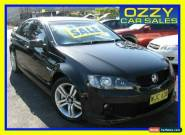 2007 Holden Commodore VE MY08 SS Black Automatic 6sp A Sedan for Sale