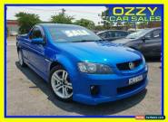 2009 Holden Commodore VE MY09.5 SV6 Blue Manual 6sp M Utility for Sale