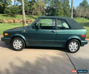 Classic 1991 Volkswagen Rabbit Cabriolet for Sale