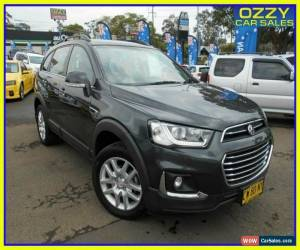 Classic 2017 Holden Captiva CG MY16 Active 7 Seater Grey Automatic 6sp A Wagon for Sale