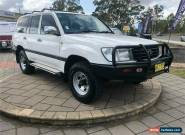 2000 Toyota Landcruiser FZJ105R GXL White Automatic A Wagon for Sale