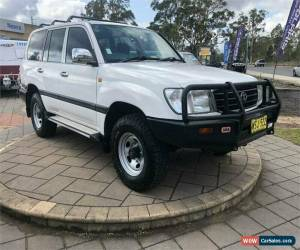 Classic 2000 Toyota Landcruiser FZJ105R GXL White Automatic A Wagon for Sale