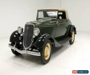Classic 1933 Ford Cabriolet for Sale
