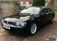 BMW 745i Luxury V8 Full Option Low Mileage Full Mot for Sale