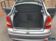2004 VAUXHALL ASTRA CLUB 8V SILVER for Sale