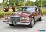 Classic 1982 Cadillac Seville 4 Dr Sedan for Sale