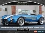 1965 Shelby Cobra Backdraft Racing RT4 Cobra for Sale