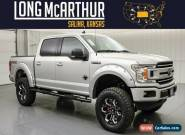 2019 Ford F-150 Lifted Black Widow V8 Crew Cab 4x4 MSRP $76105 for Sale