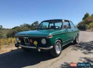 1974 BMW 2002 Tii Coupe for Sale