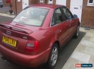 1997 AUDI A4 2.8 SE AUTO RED SPARE OR REPAIR for Sale