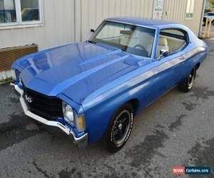 Classic 1972 Chevrolet Chevelle Coupe for Sale