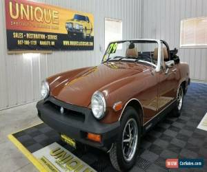 Classic 1979 MG Midget 1500 Convertible for Sale